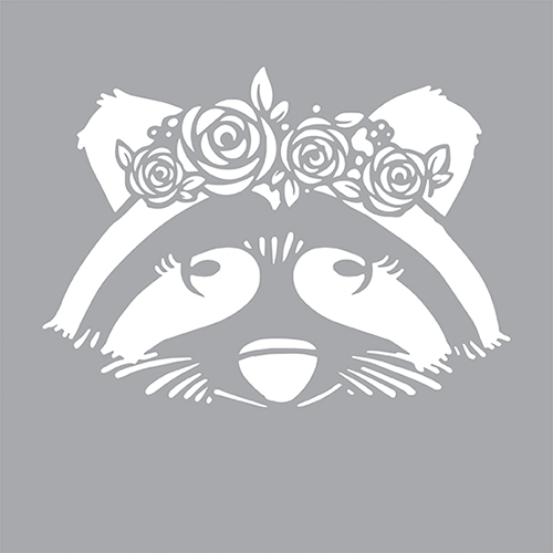 DFS112-K Chic Raccoon Product Image
