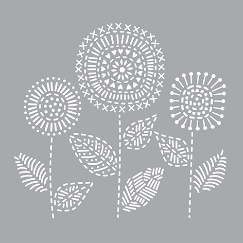 Stitched Flower Bunch Product Image