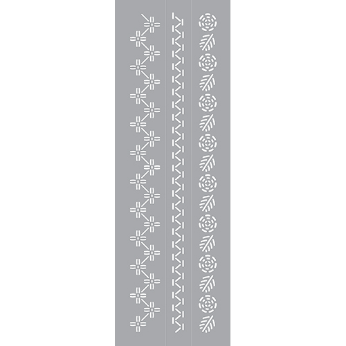Embroidered Floral Product Image