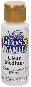Americana Gloss Enamel Clear Medium Product Image