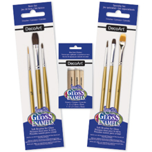Americana Gloss Enamels Brushes