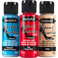 DecoArt Patent Leather Metallics