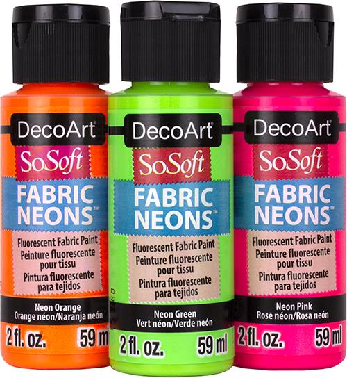 DecoArt SoSoft Neons