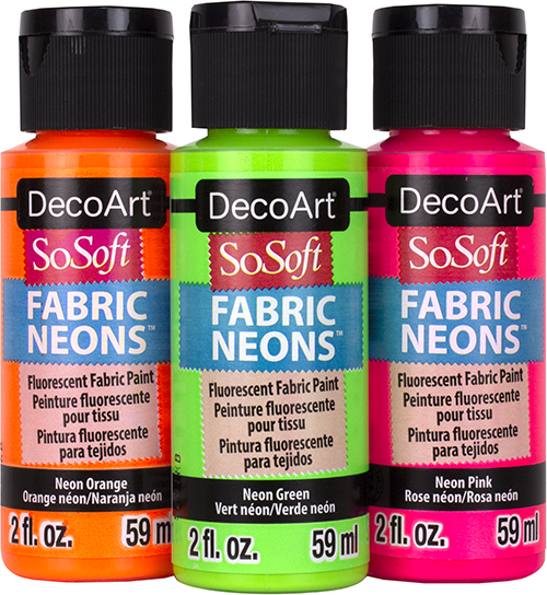 DecoArt SoSoft Neons Product Image