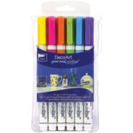 DecoArt Glass Paint Markers Metallics