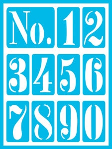 Vintage Numbers 2 Product Image