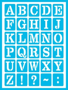 DCPS11-K Everyday Alphabet Product Image