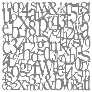 ANDY101-K Alphabet Spaghetti Product Image