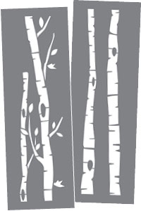 ADS305-K Birch Trees Product Image