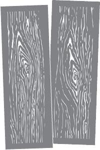 ADS306-K Wood Grain Product Image
