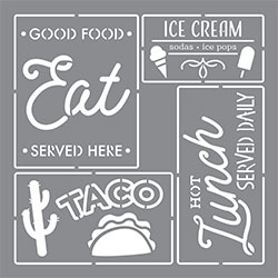 Food Truck Signs Product Image
