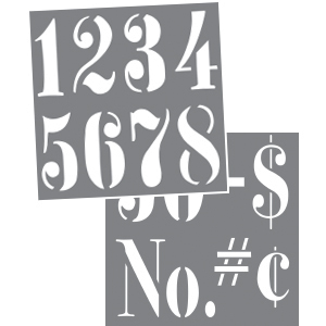 Vintage Numbers 3 Product Image