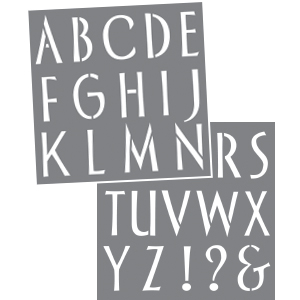 Sleek Alphabet Product Image