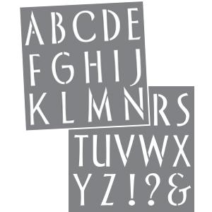Sleek Alphabet