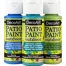 DecoArt Patio Paint Outdoor Acrylics Product Image