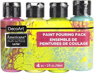 Americana Multi-Surface Pour Paint Sets Product Image