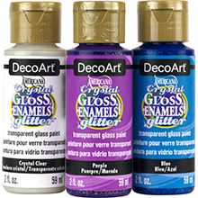 Americana Crystal Glitter Gloss Enamels Product Image