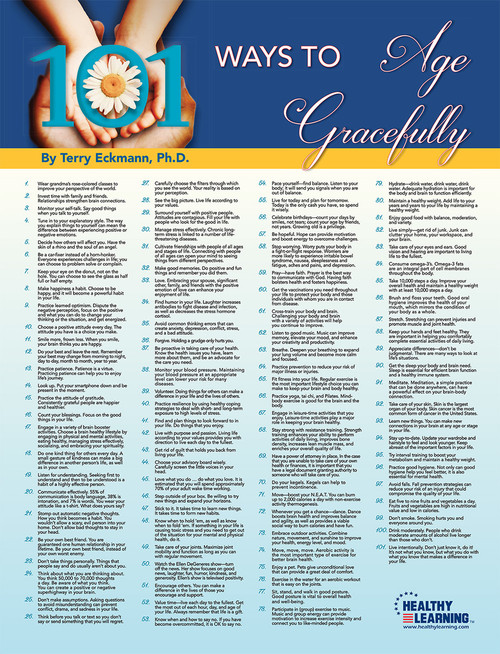 101 Ways to Age Gracefully  Poster