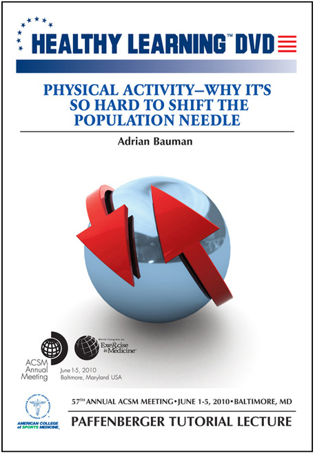 Physical Activity-Why It's So Difficult to Shift the Population Needle