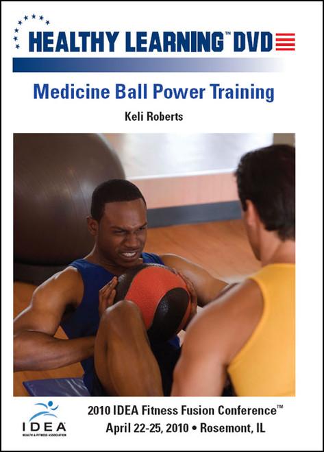 Medicine Ball Power Training