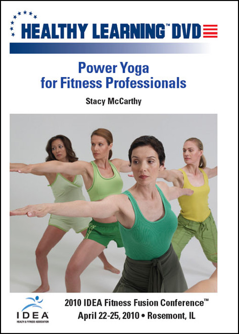 Power Yoga for Fitness Professionals