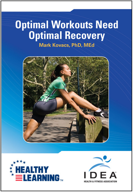 Optimal Workouts Need Optimal Recovery