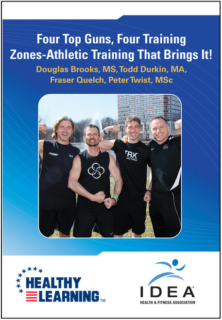 Four Top Guns, Four Training Zones-Athletic Training That Brings It!