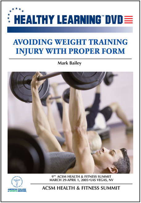 Avoiding Weight Training Injury With Proper Form