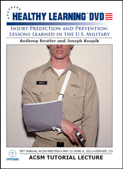 Injury Prediction and Prevention: Lessons Learned in the U.S. Military