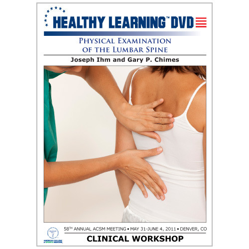 Physical Examination of the Lumbar Spine