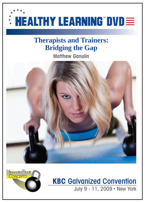 Therapists and Trainers: Bridging the Gap