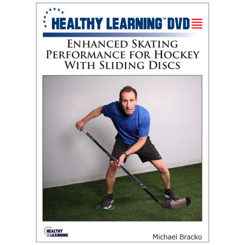 Enhanced Skating Performance for Hockey With Sliding Discs