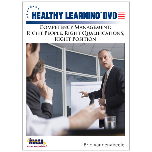 Competency Management: Right People, Right Qualifications, Right Position