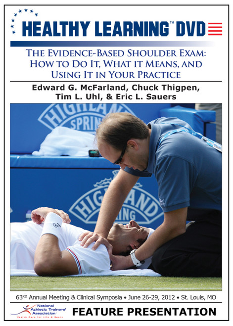 The Evidence-Based Shoulder Exam: How to Do It, What it Means, and Using It in Your Practice