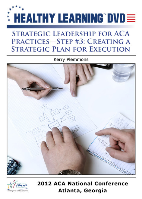 Strategic Leadership for ACA Practices-Step #3: Creating a Strategic Plan for Execution