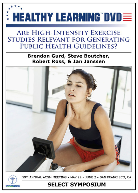 Are High-Intensity Exercise Studies Relevant for Generating Public Health Guidelines