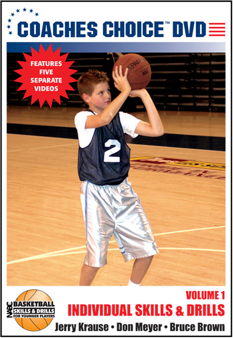 NABC's Basketball Skills & Drills for Younger Players: Vol. 1-Individual Skills & Drills