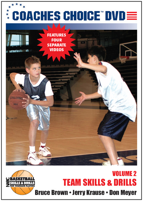 NABC's Basketball Skills & Drills for Younger Players: Vol. 2-Team Skills & Drills