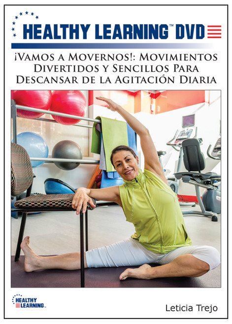 ¡Vamos a Movernos!: Movimientos Divertidos y Sencillos Para Descansar de la Agitación Diaria