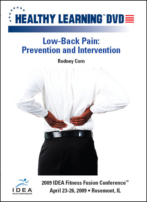 Low-Back Pain: Prevention and Intervention