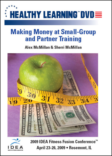 Making Money at Small-Group and Partner Training