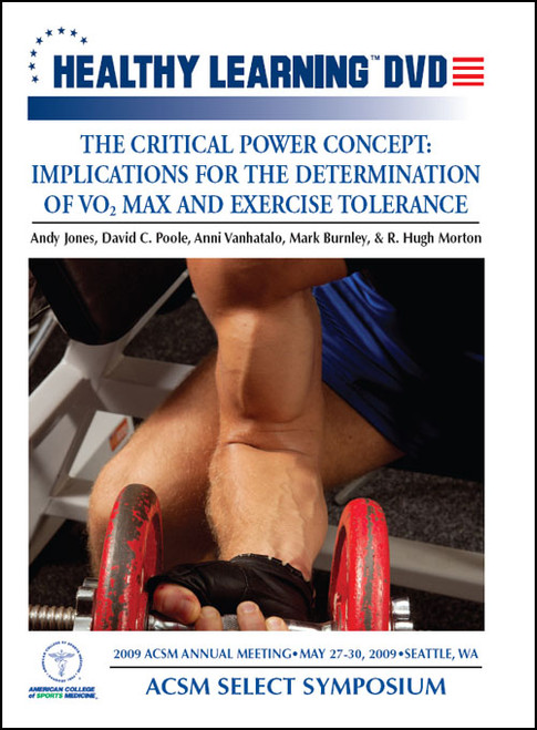 The Critical Power Concept: Implications for the Determination of V02 Max and Exercise Tolerance
