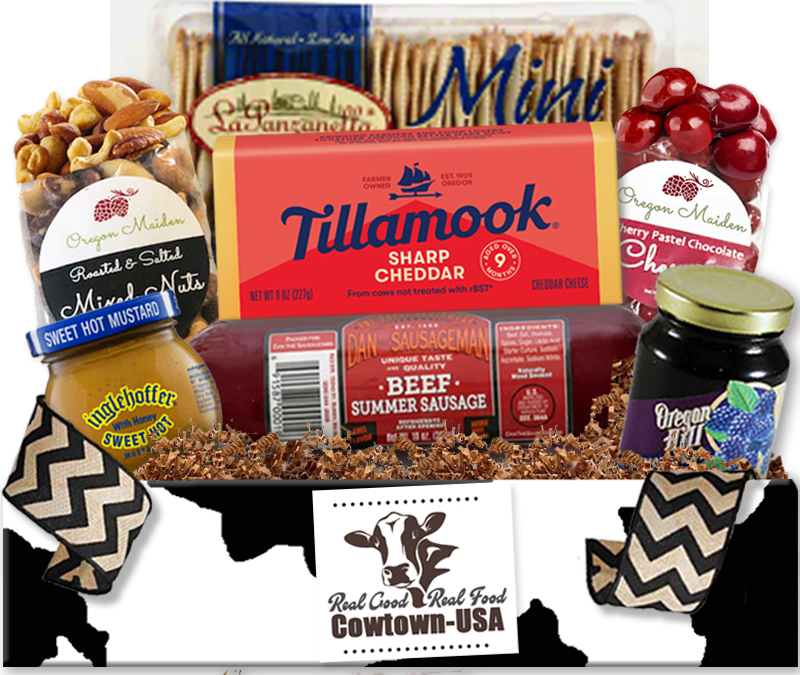 Meat and Cheese Gift Baskets Tillamook Cheese Gifts