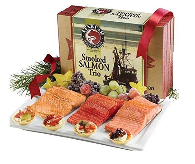 Smoked Salmon Gift Baskets