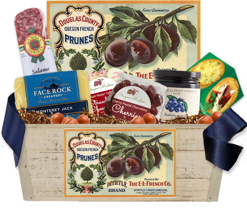 Oregon Gift Baskets - Cheese, Food & Wine Gift Baskets made in Oregon!