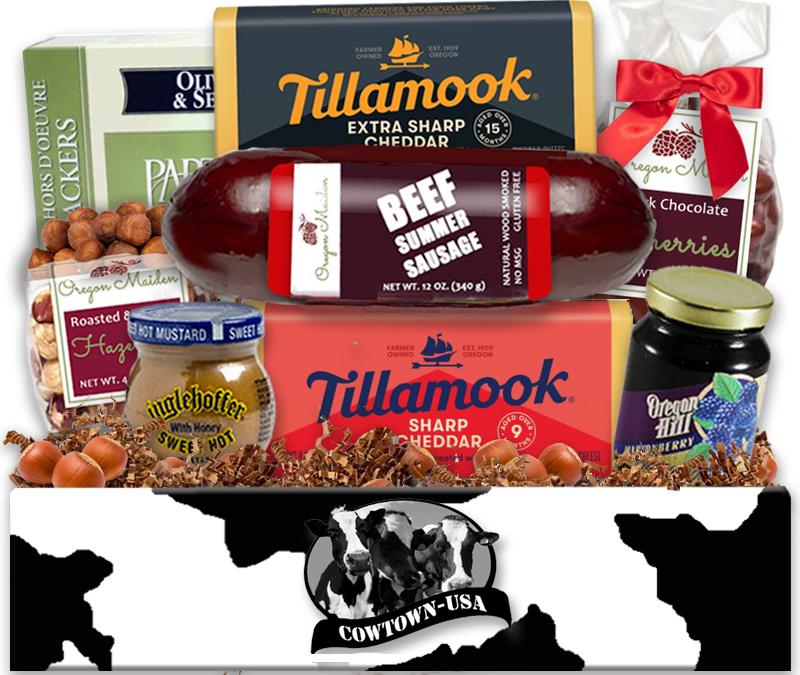 Tillamook Cheese Gift Baskets