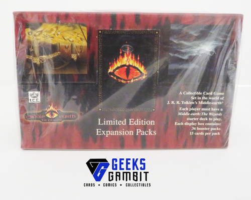 Middle-Earth CCG Dragons Limited Booster Box