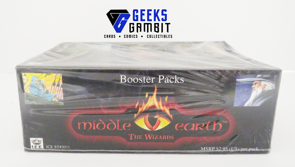Middle-Earth CCG Wizards Limited Booster Box