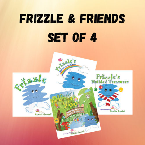 Frizzle & Friends (Set of 4 books)