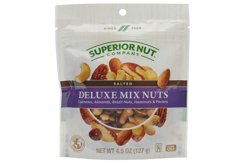 Superior Nut Company Mixed Nuts No Peanuts